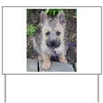 "Cairn Terrier ""Emma"" Yard Sign"