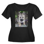 """Cairn Terrier """"Emma"""" Women's Plus Size Scoop Neck"""