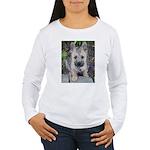 """Cairn Terrier """"Emma"""" Women's Long Sleeve T-Shirt"""