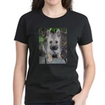 """Cairn Terrier """"Emma"""" Women's Dark T-Shirt"""