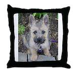"""Cairn Terrier """"Emma"""" Throw Pillow"""