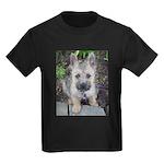 """Cairn Terrier """"Emma"""" Kids Dark T-Shirt"""