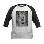 """Cairn Terrier """"Emma"""" Kids Baseball Jersey"""