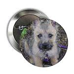 """Cairn Terrier """"Emma"""" 2.25"""" Button"""