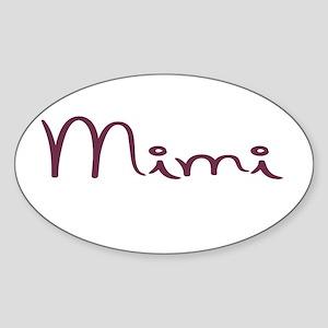 Mimi Sticker (Oval)