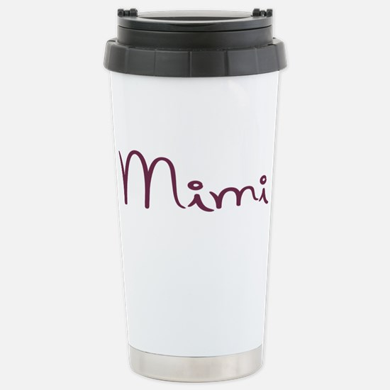 Mimi Stainless Steel Travel Mug