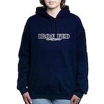 Iron Fed Bodybuilding Women's Hooded Sweatshirt