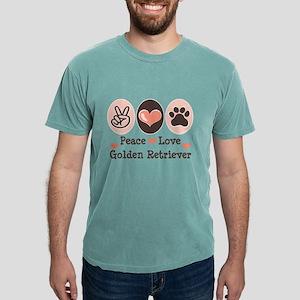 Peace Love Golden Retriever T-Shirt