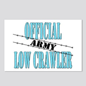 Official Army Low Crawler (boy) Postcards (Package