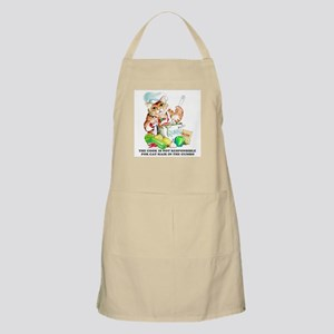 Cajun Chef Cat BBQ Apron