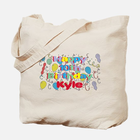 Kyle's 10th Birthday Tote Bag