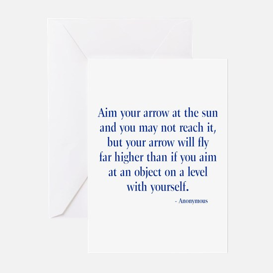 Arrow Quotation Greeting Cards (Pk of 10)