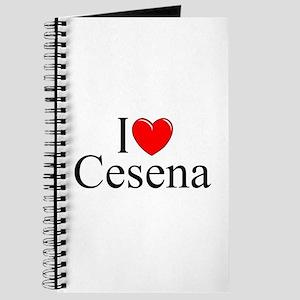 """""""I Love (Heart) Cesena"""" Journal"""