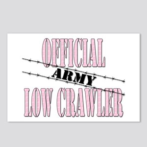 Official Army Low Crawler (girl) Postcards (Packag