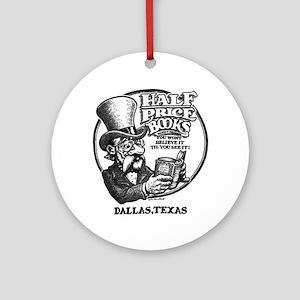 """Half Price Books"" Ornament (Round)"
