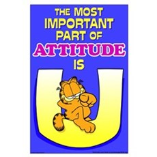 Most Important Garfield Large Poster