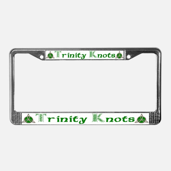 Joe's Trinity Knot License Plate Frame