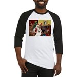Santa's Samoyed Baseball Jersey