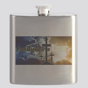 From Darkness To Light Flask