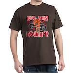 REAL MEN DEADLIFT! - Brown T-Shirt