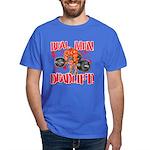 REAL MEN DEADLIFT! - Royal Blue T-Shirt