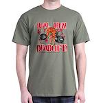 REAL MEN DEADLIFT! - Army Green T-Shirt