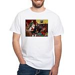 Santa's PWD White T-Shirt