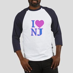 I Love NJ Baseball Jersey