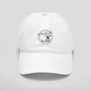 Weirdlandia Black and White Baseball Cap