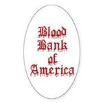 Accept Donations with this Oval Sticker (10 pk)