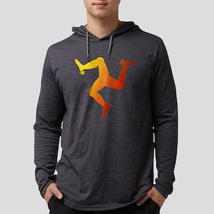 Manx Triskelion Long Sleeve T-Shirt