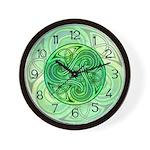 Celtic Triskele Wall Clock
