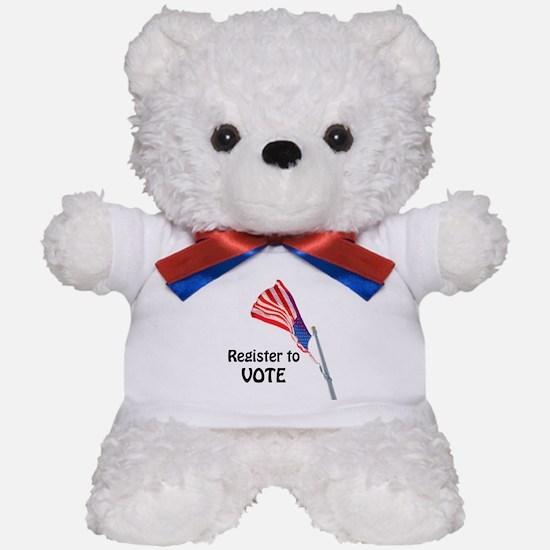 Unique Fred president Teddy Bear