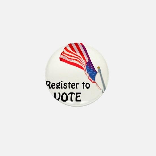 Funny Register vote Mini Button