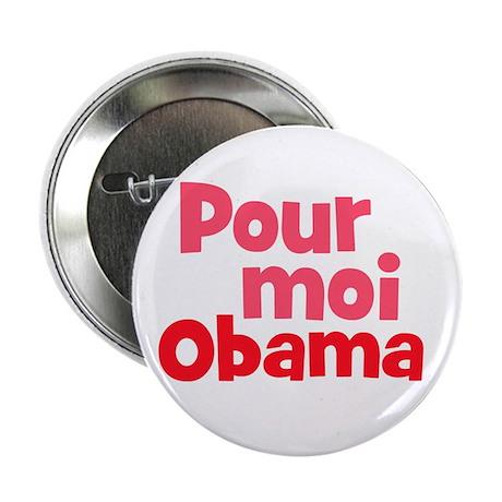 Pour moi Obama, For me Obama, French