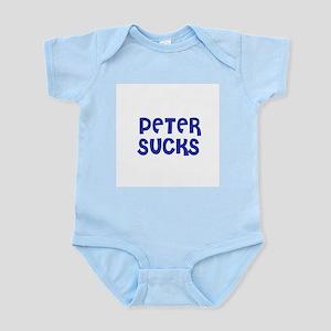 Peter Sucks Infant Creeper
