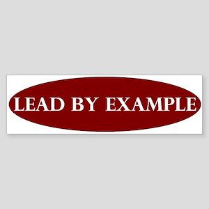 LeadByExample_Bumper Bumper Sticker