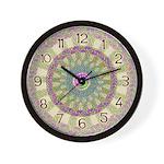 Celtic Spring-Easter Mandala Wall Clock