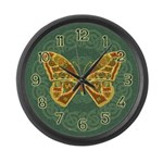 Celtic Butterfly Large Wall Clock