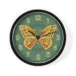 Celtic Butterfly Wall Clock