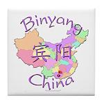 Binyang China Map Tile Coaster