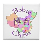 Bobai China Map Tile Coaster
