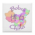Bobai China Map Tile Coaster