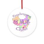 Fangchenggang China Ornament (Round)