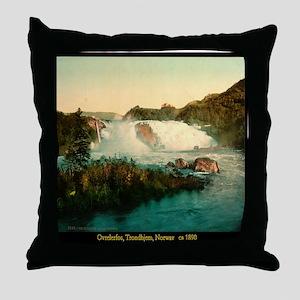 Ovrelerfos, Trondhjem, Norway Throw Pillow