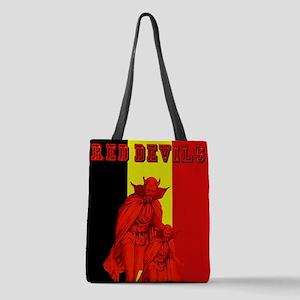 Belgium Red Devils Polyester Tote Bag
