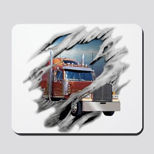 Torn Trucker Mousepad