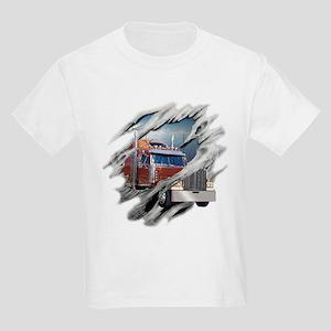Torn Trucker Kids Light T-Shirt