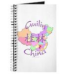 Guilin China Map Journal