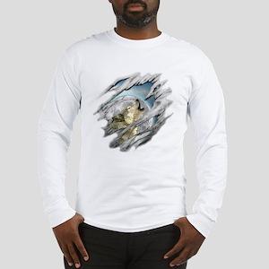 Torn Wolf Long Sleeve T-Shirt